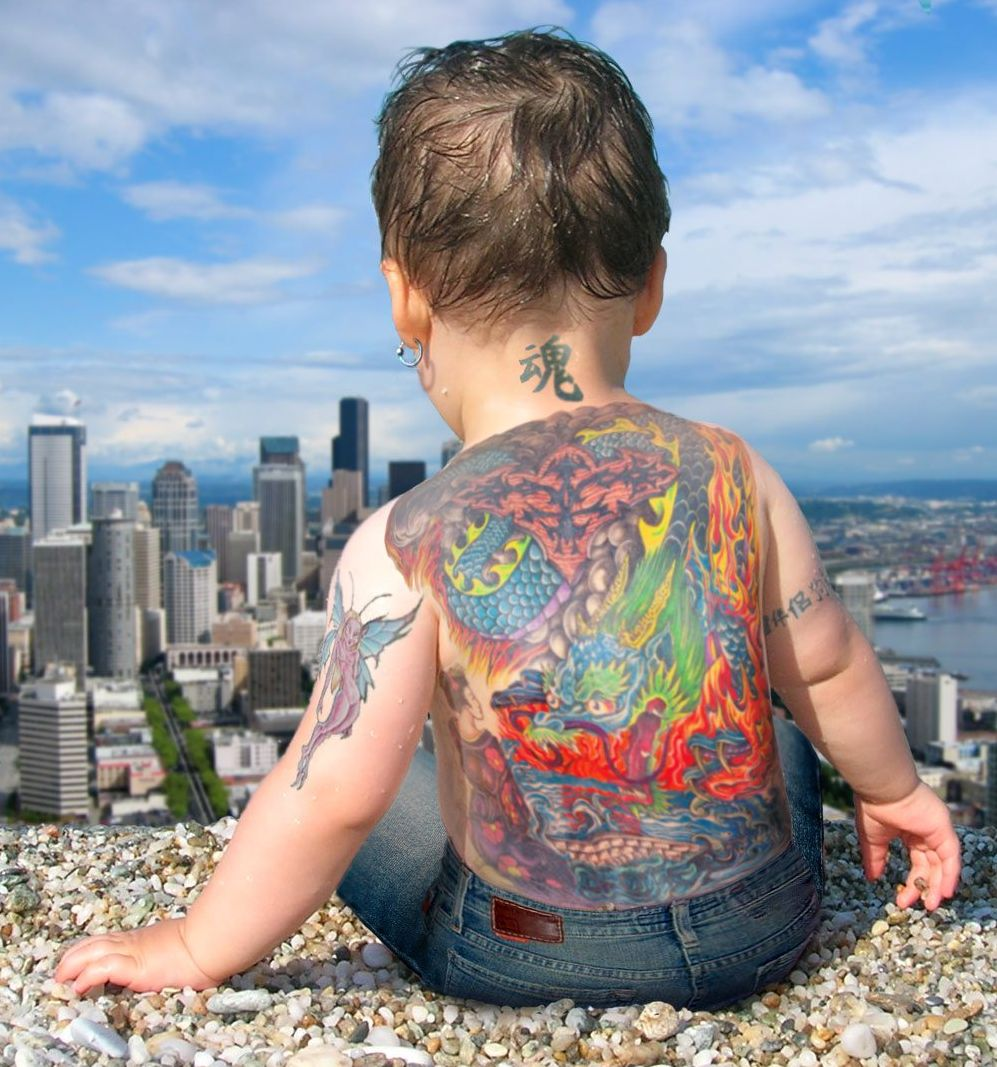 Baby Tattoo Designs