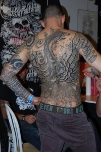 Back Tattoos for Men: The Back Says It All