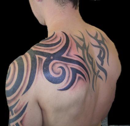 back tribal tattoos for men finding the best designs for you roomfurnitures. Black Bedroom Furniture Sets. Home Design Ideas