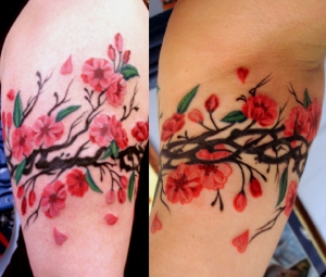 Cherry Blossom Tattoos - What Do They Mean