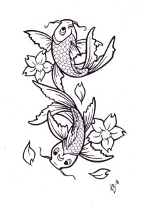 Koi Tattoos Designs - A Symbol of Wisdom and Strength