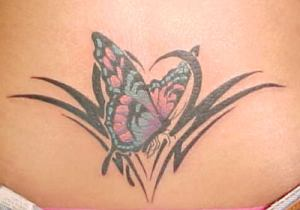 Lower Back Butterfly Tattoos - The Ultimate Guide!
